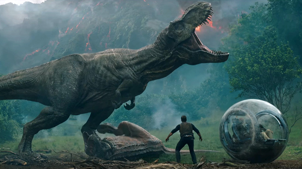 Jurassic World: Fallen Kingdom directed by J.A. Bayona. Image courtesy of Universal Pictures.