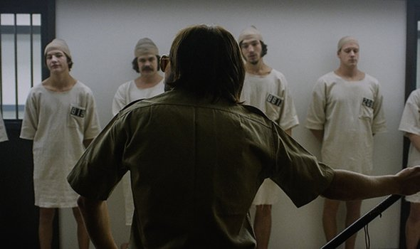 The Stanford Prison Experiment. Image courtesy of Netflix.