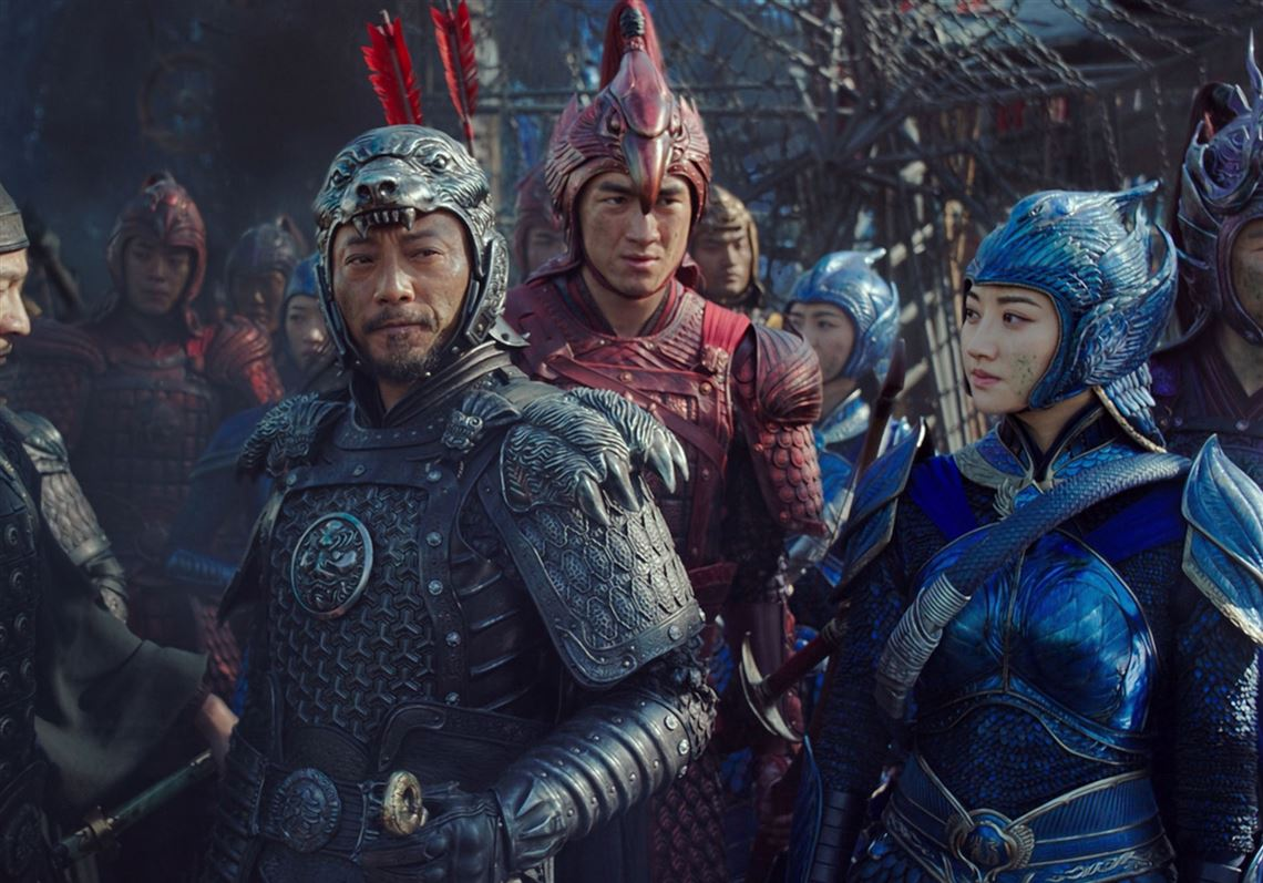 The Great Wall directed by Zhang Yimou. Image courtesy of Universal Pictures and China Film Group.