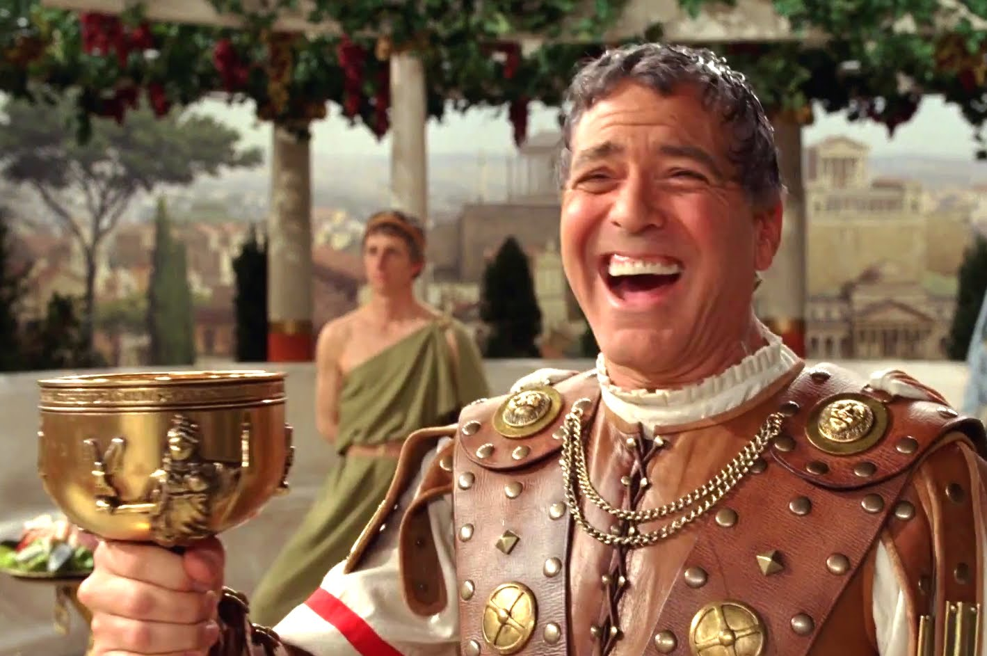 George Clooney in Hail Caesar! Image courtesy of Universal Pictures.
