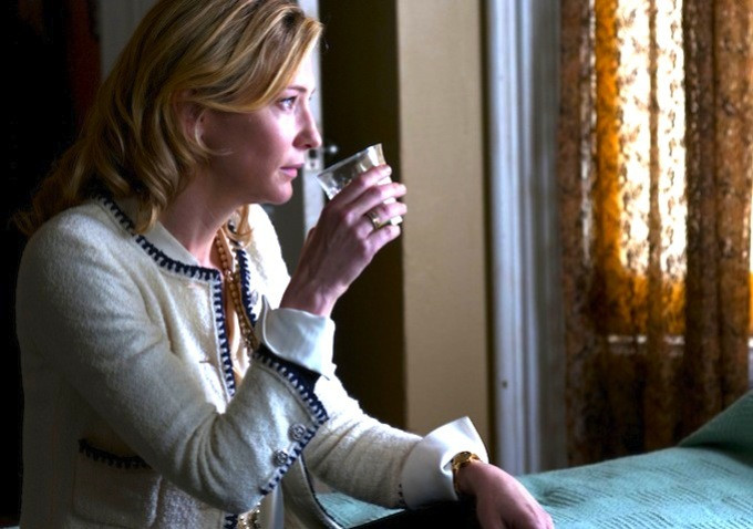 Cate Blanchett in Blue Jasmine. Image courtesy of Sony Picture Classics.