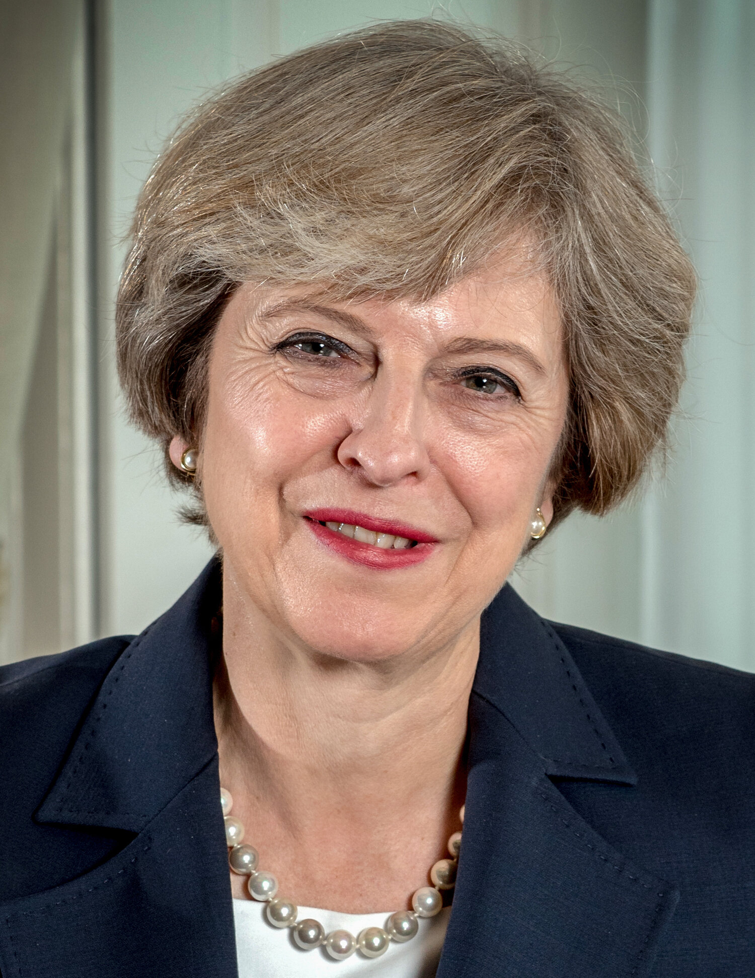 Theresa May. This image is used under a Creative Commons license. Credit:Andrew Parsons.