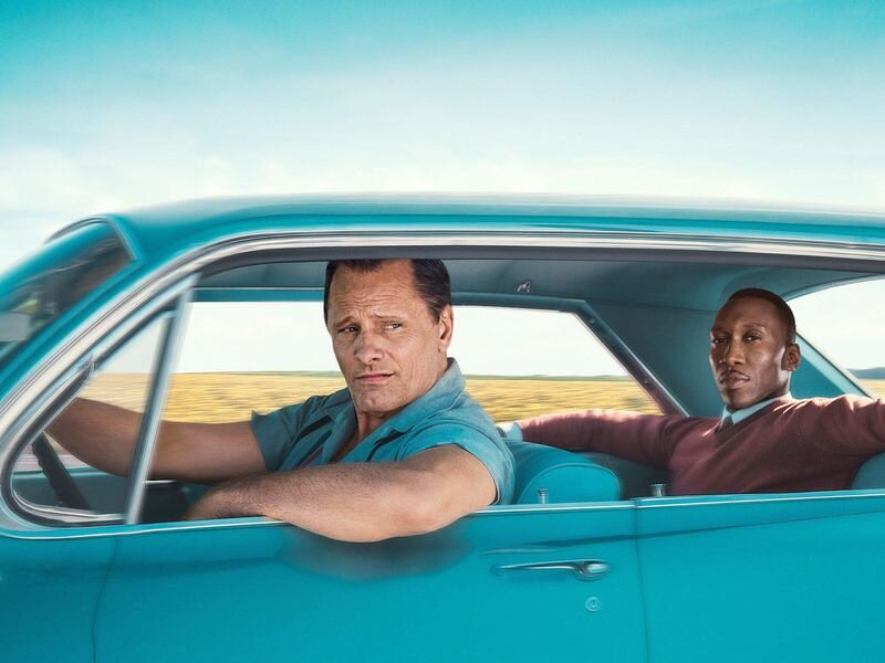 Green Book. Image courtesy of Universal Pictures.