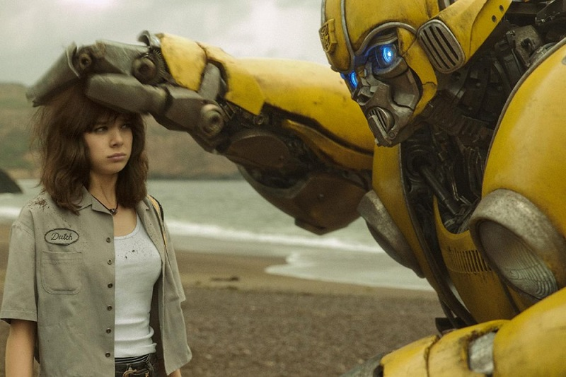 From Bumblebee directed by Travis Knight. Image courtesy of Paramount Pictures.
