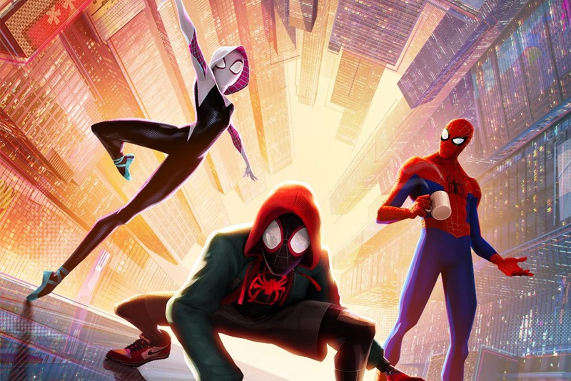 Image from Spider-Man Into the Spider-Verse. Courtesy of Sony Pictures.