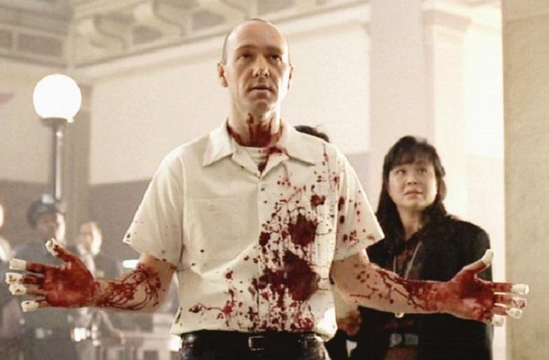 Kevin Spacey in Se7en. Image courtesy of New Line Cinema.
