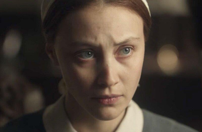 Sarah Gadon in Alias Grace. Image courtesy of CBC Television.