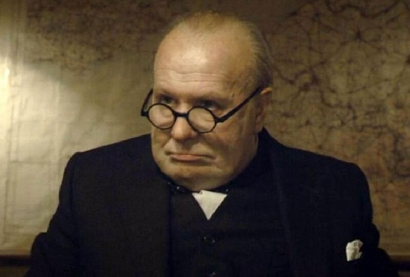 Gary Oldman in The Darkest Hour. Image courtesy of Universal Pictures.