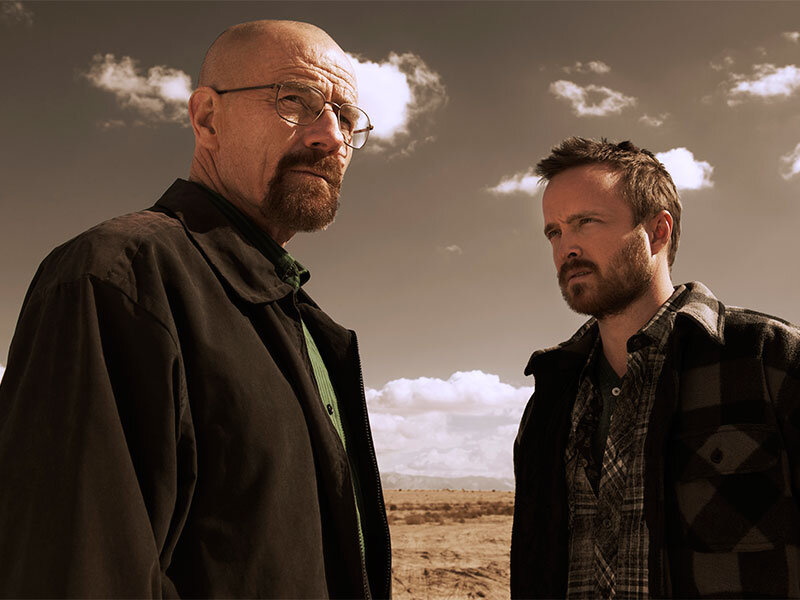 Walter White and Jesse Pinkman in Breaking Bad. Image courtesy of AMC.