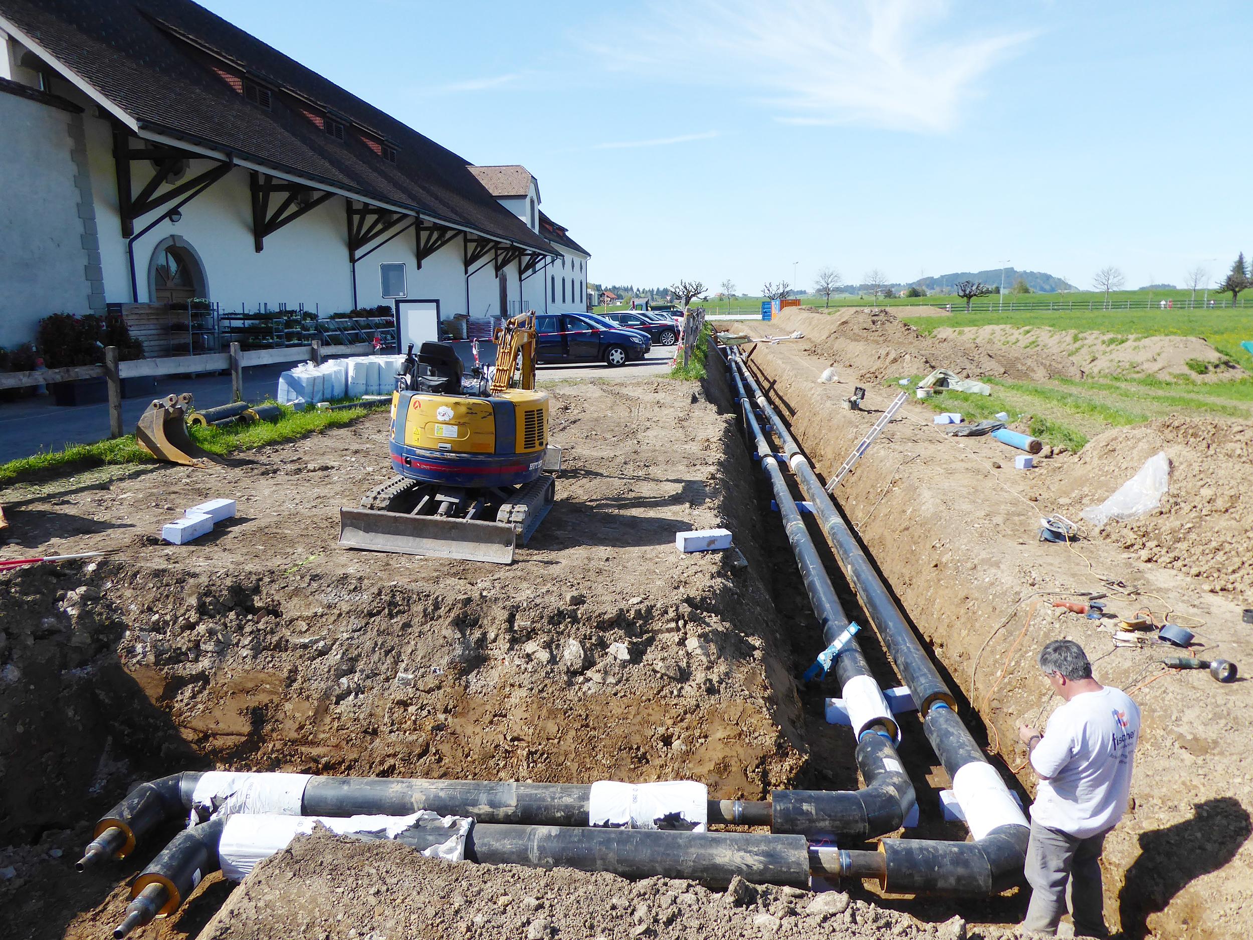 Klostergraben Ost im April/Juni 2017