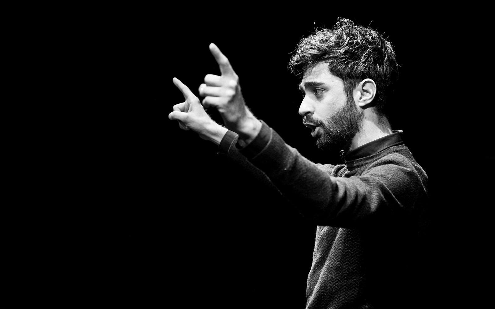 """""""FUORI"""" D. Gattano (foto: Matteo Abati)"""
