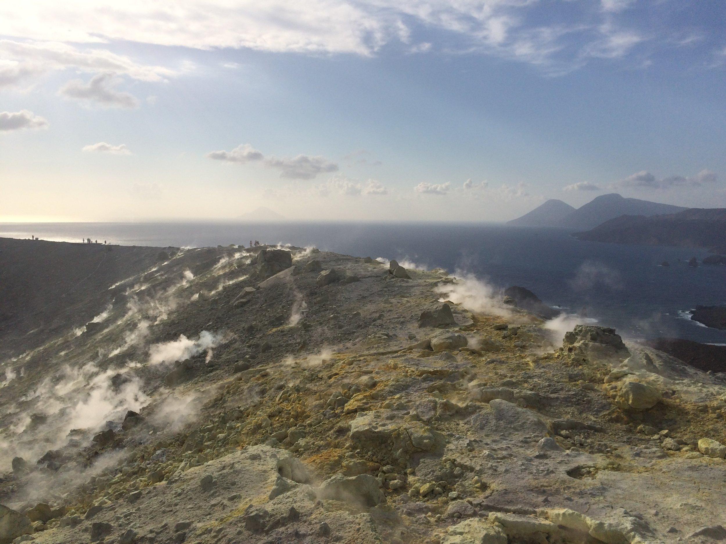 Chronique volcanique #1