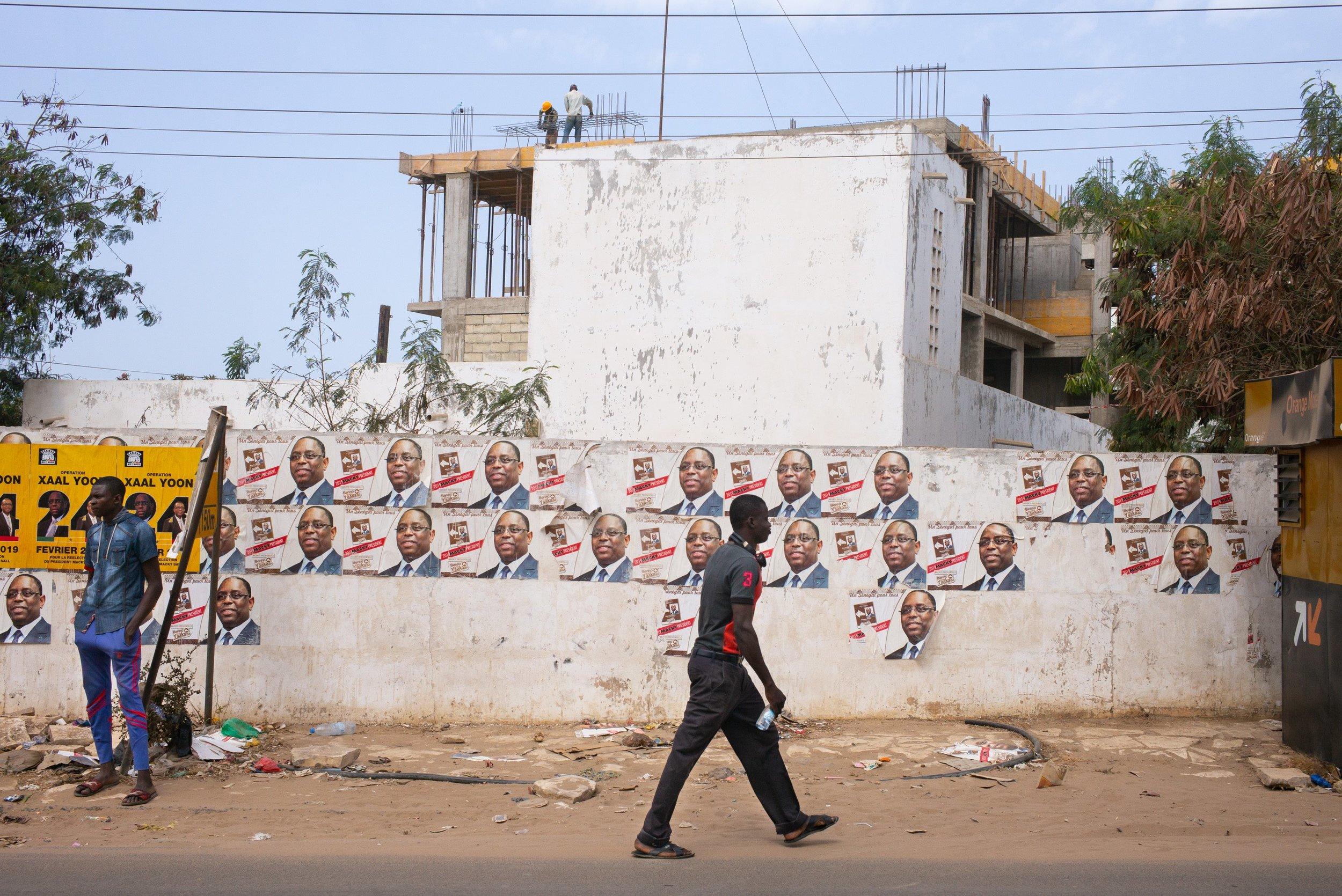 Un réveil à Dakar