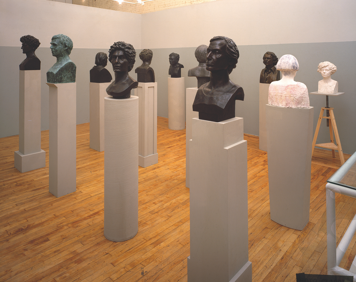 Figure heads, John Nichols, New York, 1993