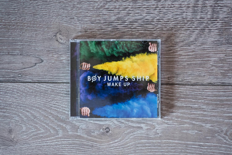 "CLICK FOR... BOY JUMPS SHIP ""WAKE UP"" ALBUM ARTWORK"