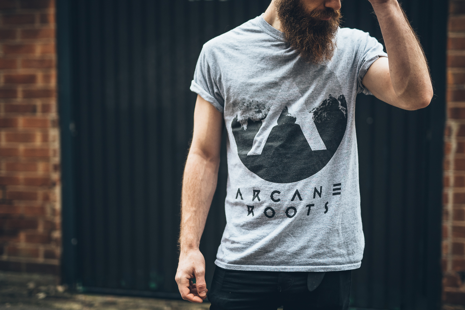 ARCANE ROOTS 'ALPINE' TEE - FULL DESIGN