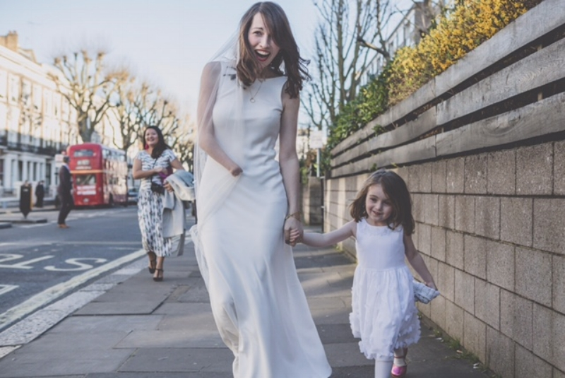 TARA WAS A VISION IN THE torum dress Browse our Bridal Iconic Collection to find Tara's dress and see many more options -