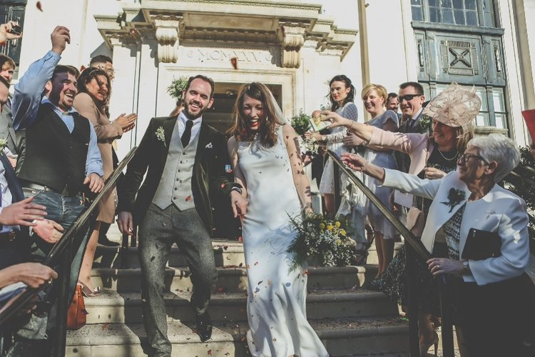 Did you catch last week's friday bride, TAra? - Our cool bride walked down the aisle in the Torum dress from the Iconic Collection