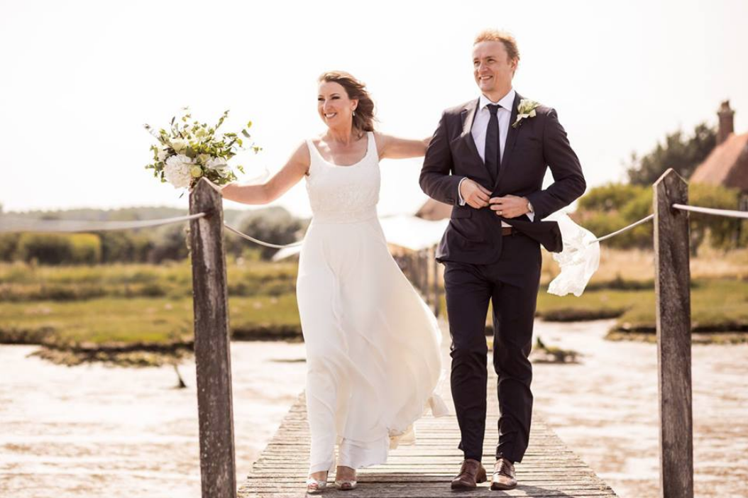 Did you catch last Month's friday bride, Erin? - Our cool bride walked down the aisle in an Iconic Collection dress