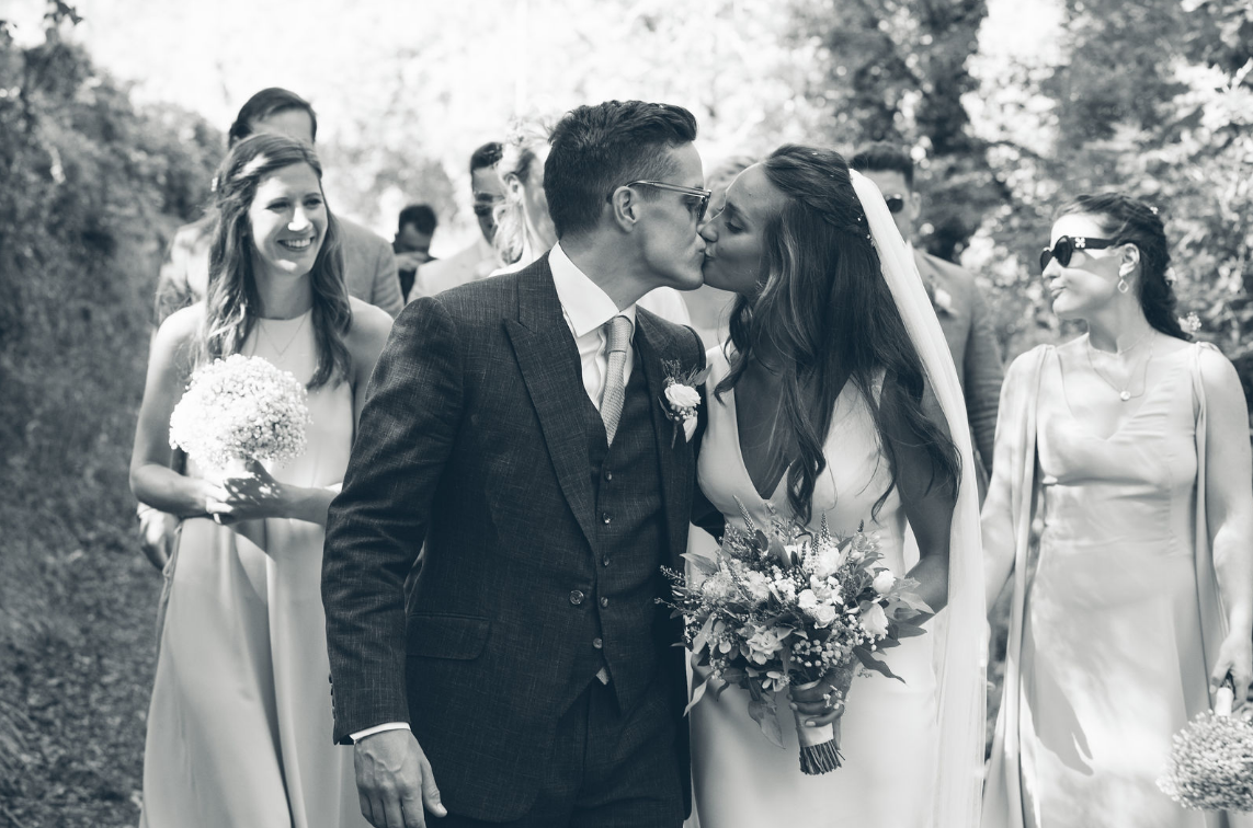 Natasha WAS A VISION In her Charlie Brear dress - browse our bridal collection to find a style like Belinda's dress and see many more options