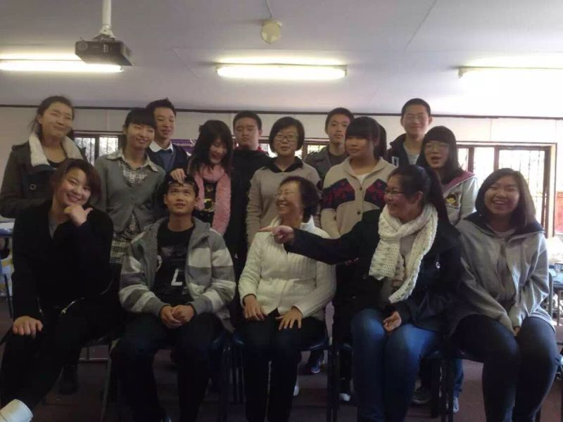 Grade 11 Chinese Class Group Photo