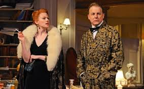 Present Laughter   Zoe Boyle and Samuel West