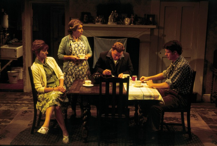 The York Realist   Caroline O'Neill, Anne Reid, Ian Mercer and Lloyd Owen
