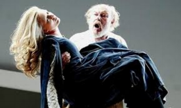 King Lear   Timothy West and Rachel Pickup
