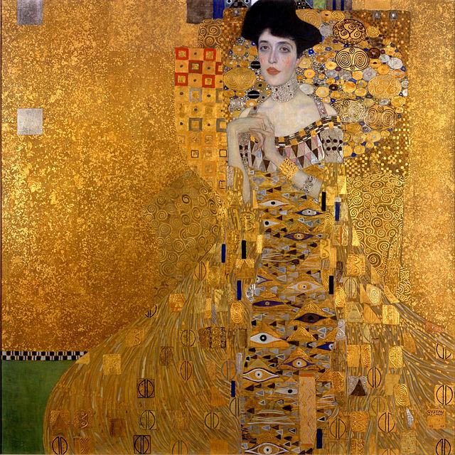 """""""Adele Bloch-Bauer"""" Gustav Klimt, 1907"""