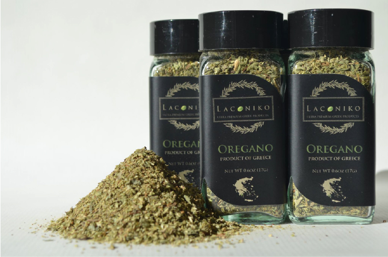 Laconiko Aromatic Oregano   is proud to bring this aromatic Oregano, handpicked from the famous Mt. Taygetos in the region of Lakonia, land of the Spartans. Simply crush with the tip of your fingers and sprinkle in any of your favorite dishes, its rich aroma is breathtaking!