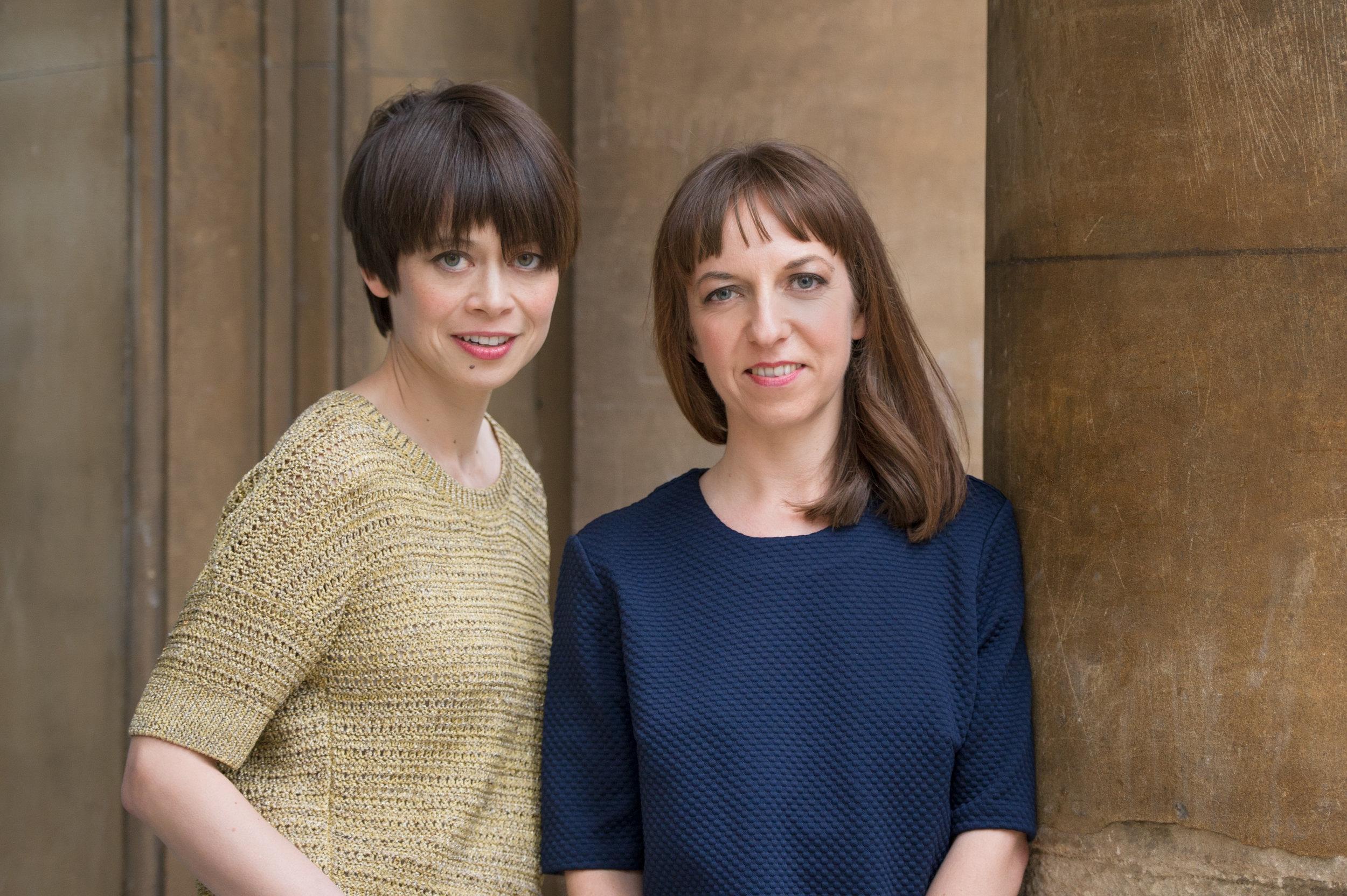 Emily Midorikawa & Emma Claire Sweeney, photo by Rosalind Hobley