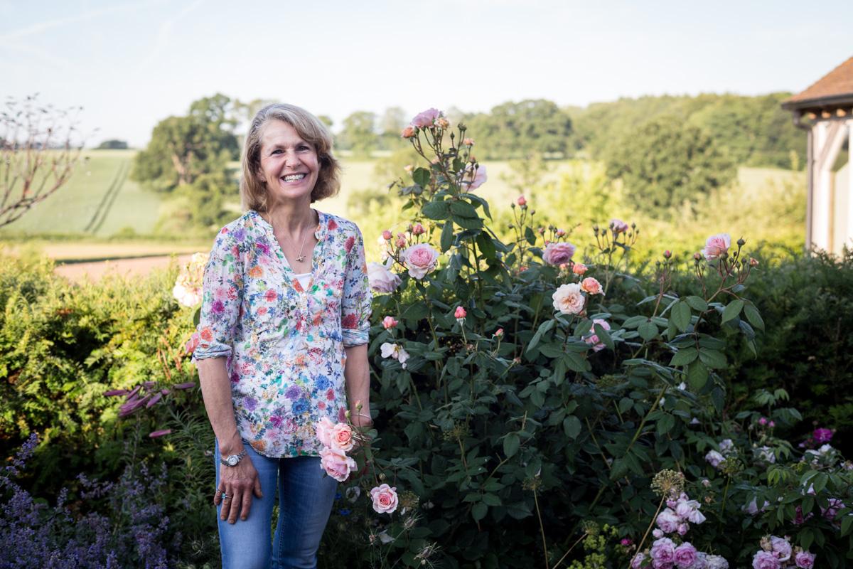 Rosebie Morton, at her farm