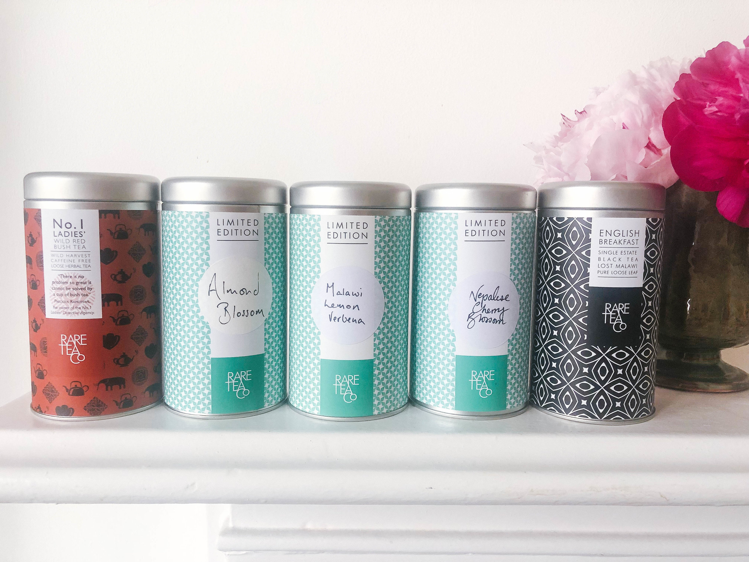 My collection of teas from the Rare Tea Company. All of them are incredible!
