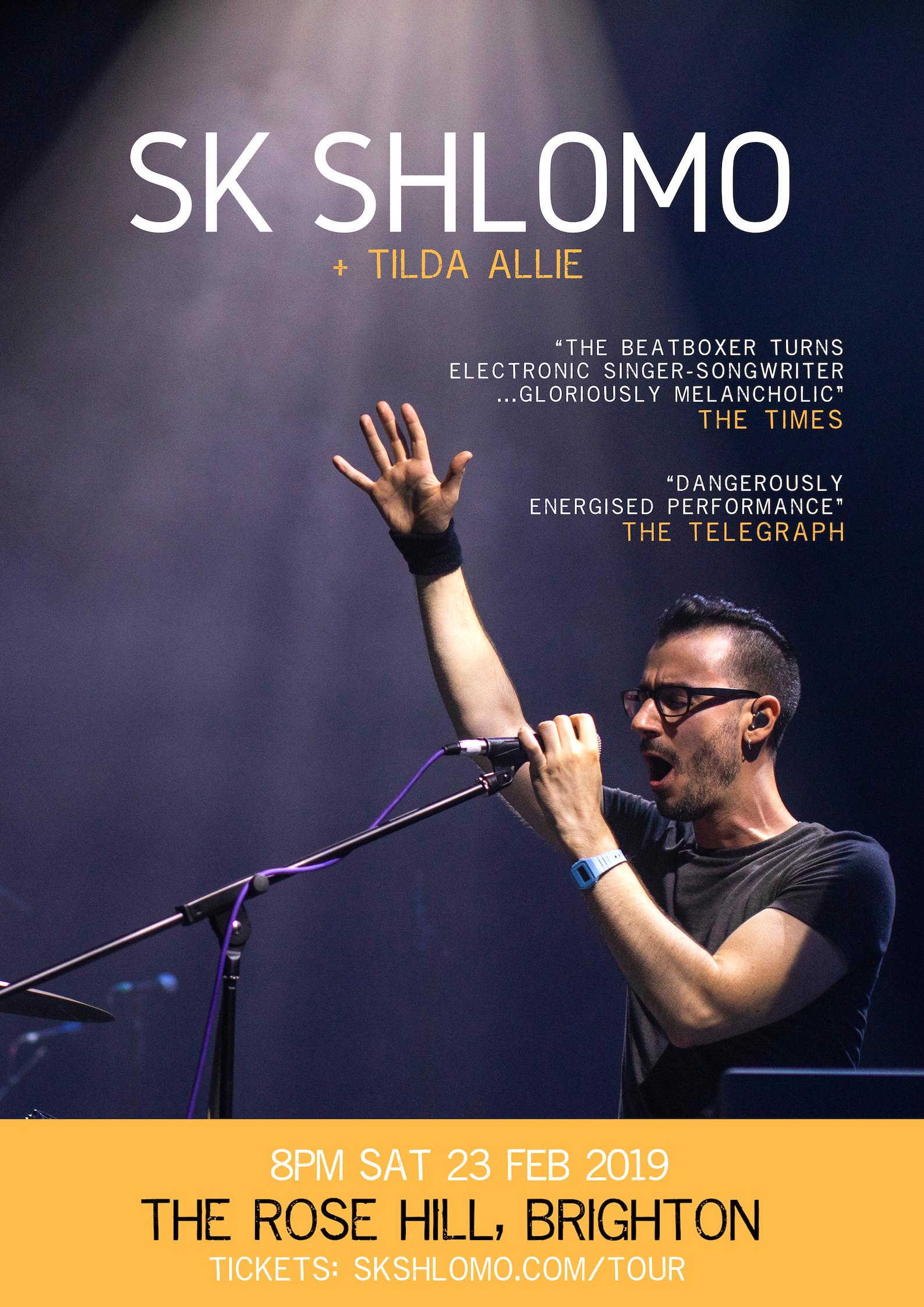 Poster BRIGHTON SURRENDER TOUR 2019 - SK Shlomo.jpg