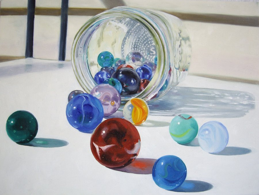 Don't lose your marbles. They are too valuable, and limited in quantity.