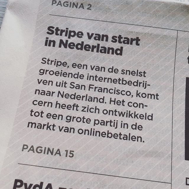 Payment provider Stripe komt naar Nederland. #ecommerce #stripepayments #stripe #magento #magento2 #paymentprovider