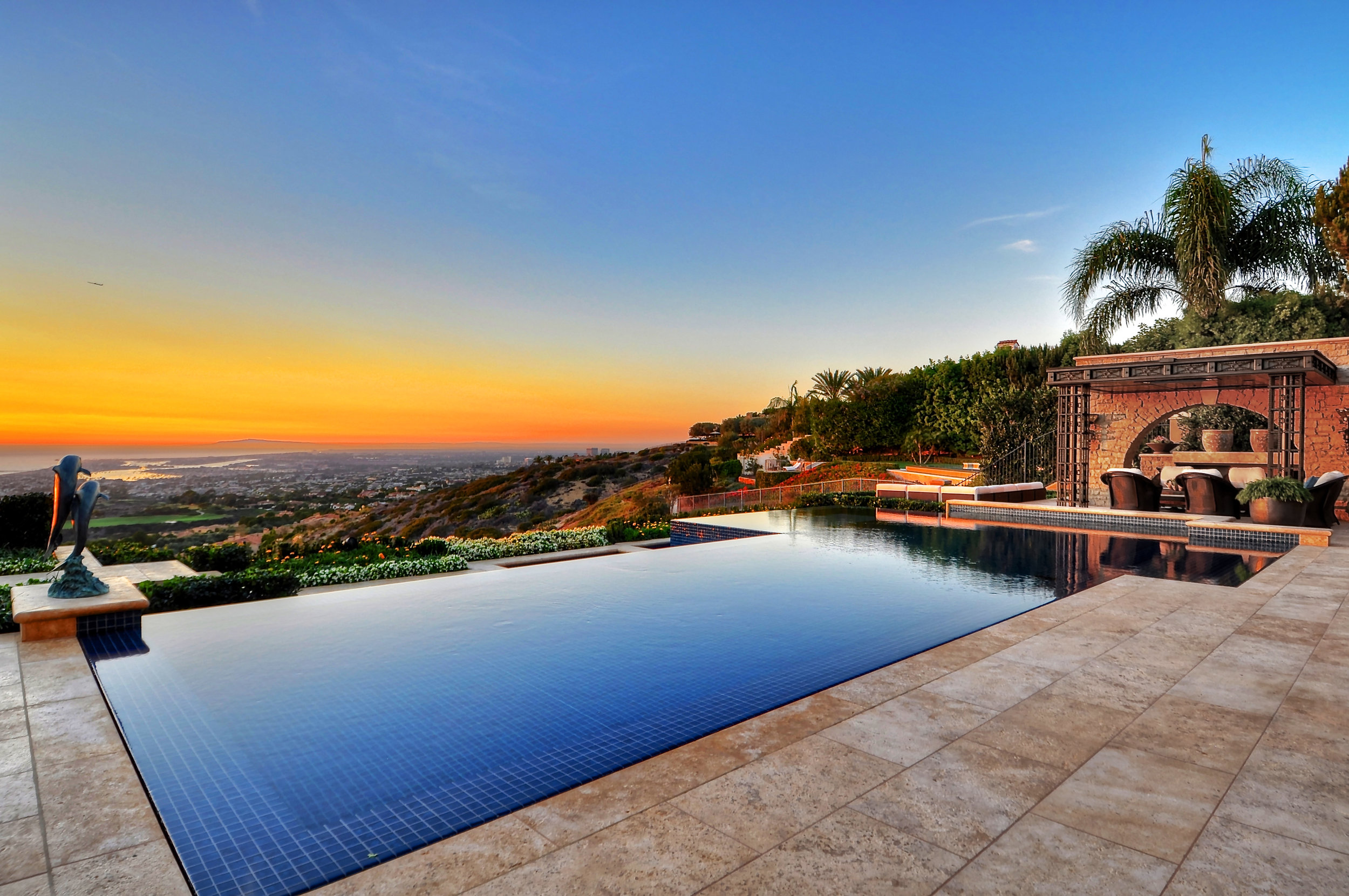 Photo from an interior and exterior renovation  project in Pelican Hill, CA .