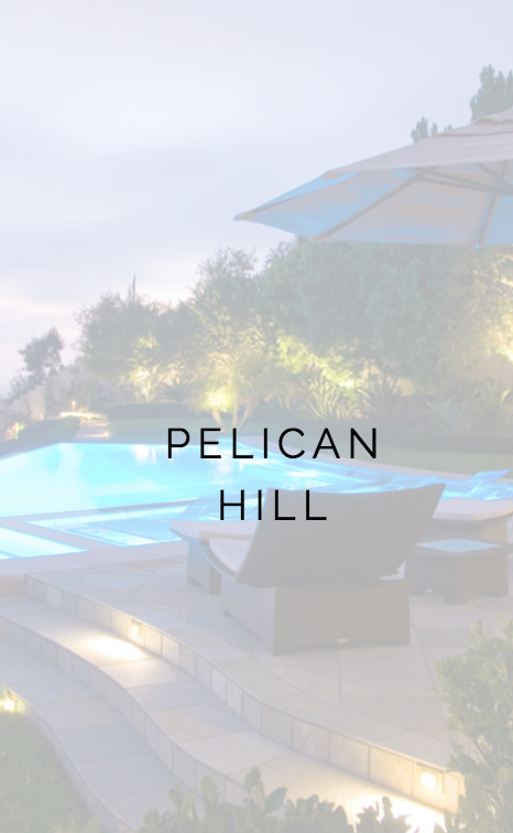 PELLICAN HILL NEWPORT BEACH, CA PROJECT LANDSCAPE CONSTRUCTION