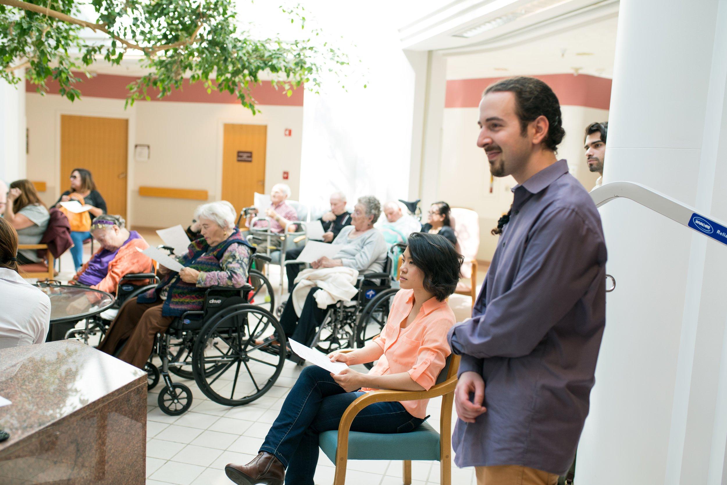 SF Jewish Home Volunteers