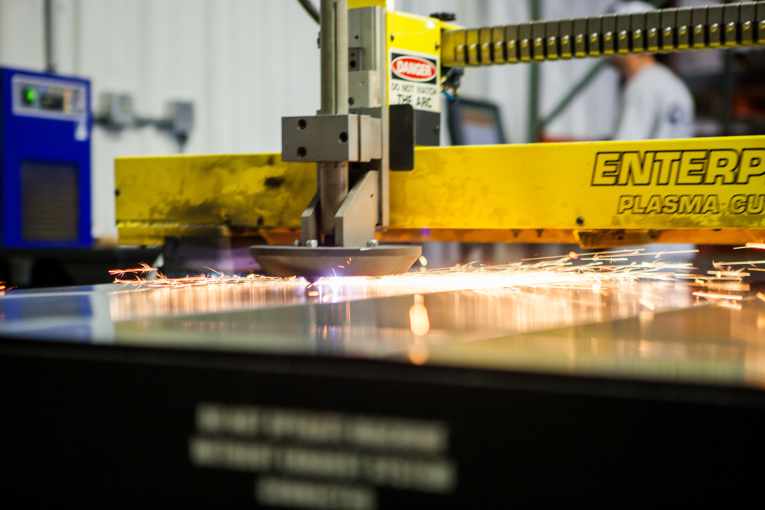Scott Systems In-House Sheet Metal Fabrication