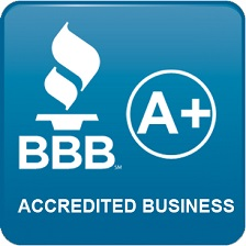 We are an A+ rated business - Leave us a review at the Better Business Bureau