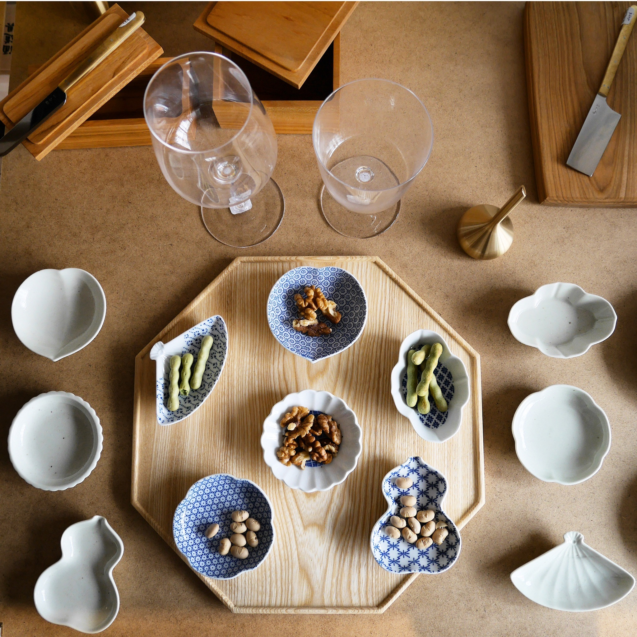 Azmaya Bean Dish and Handcrafted Tableware