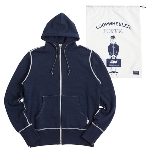 Loopwheeler collaboration series with Porter Yoshida Japan