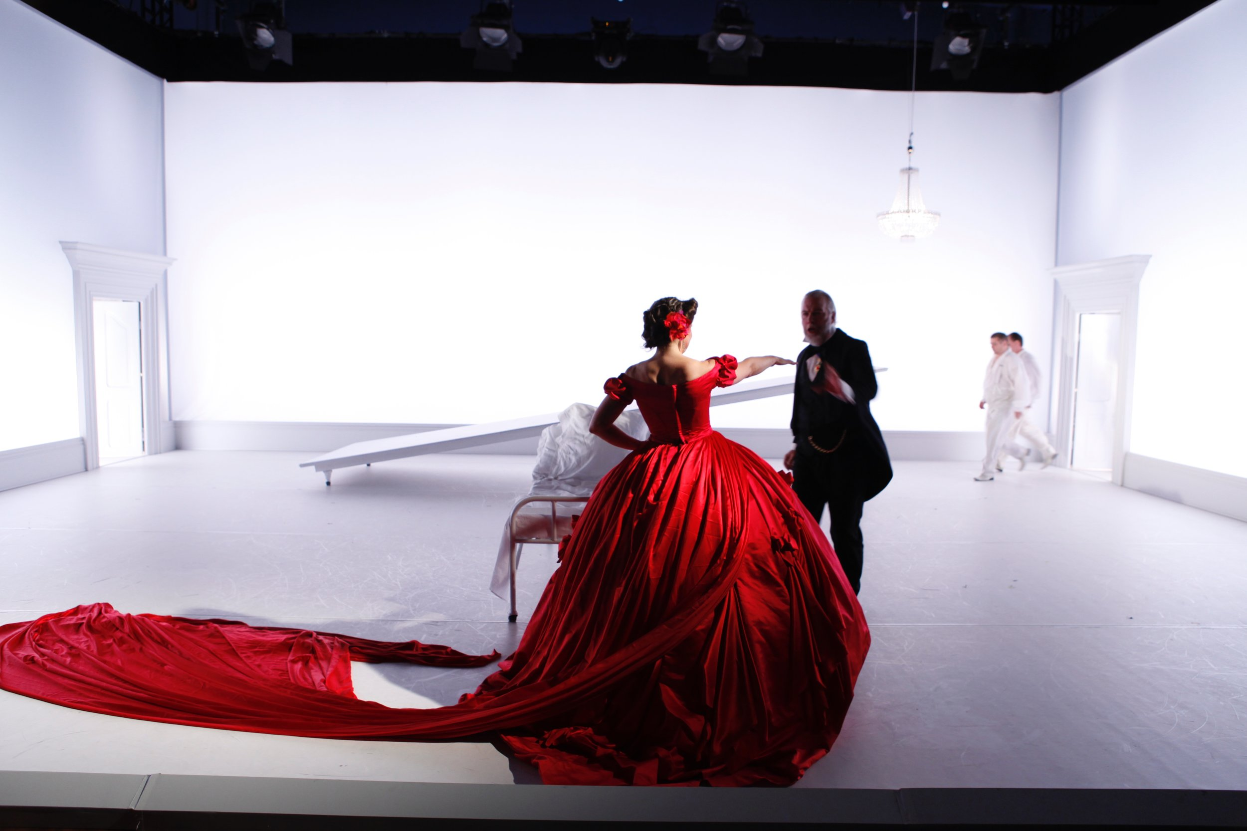 La traviata • Danish National Opera • Director Olivia Fuchs • Designer Nikki Turner