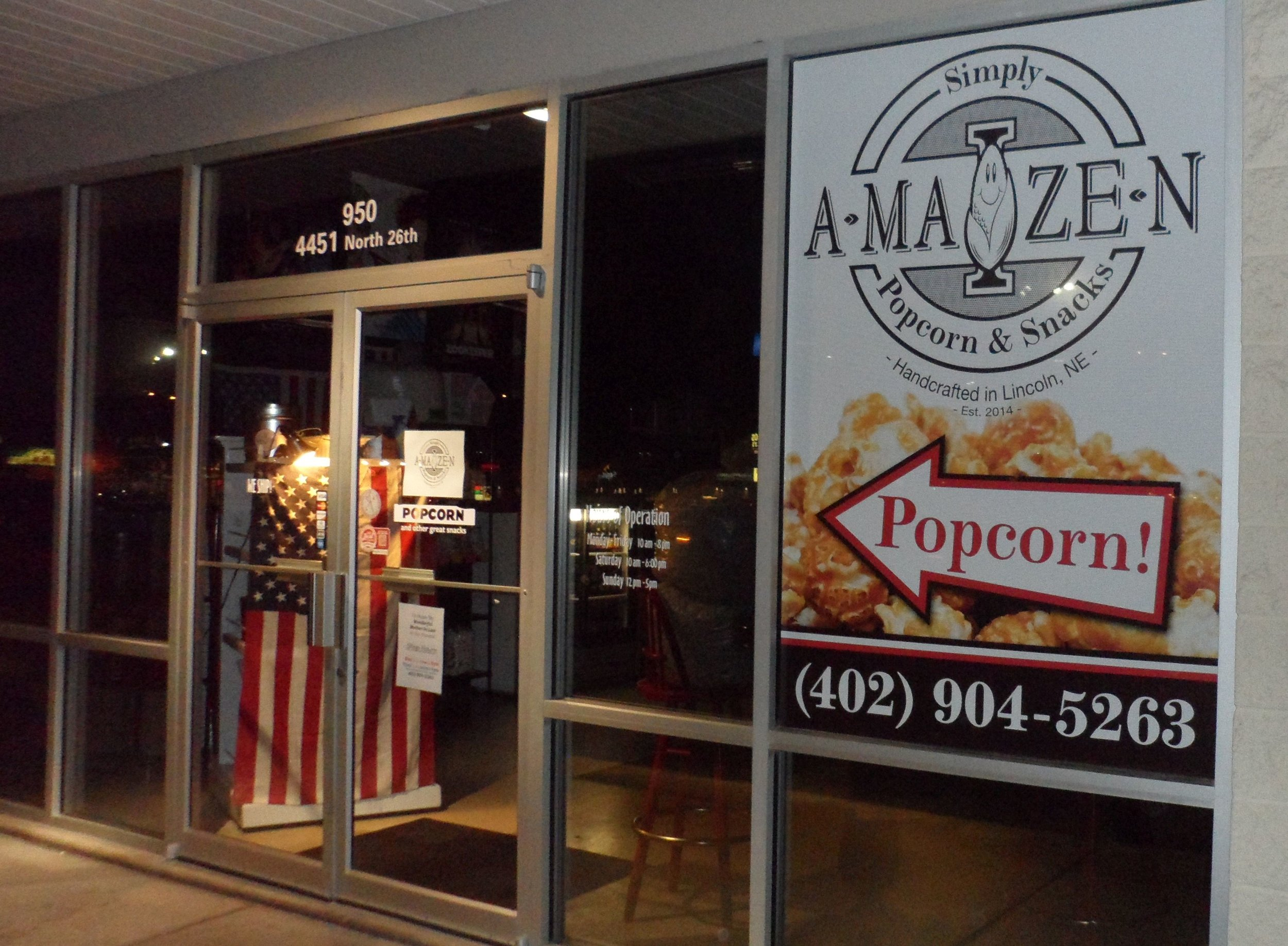 Simply A-Maize-N Popcorn & Snacks North