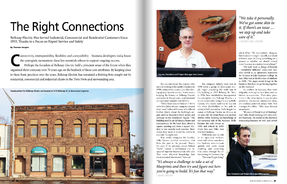 Article from Positively Superior Magazine, written by Thomas Vaughn