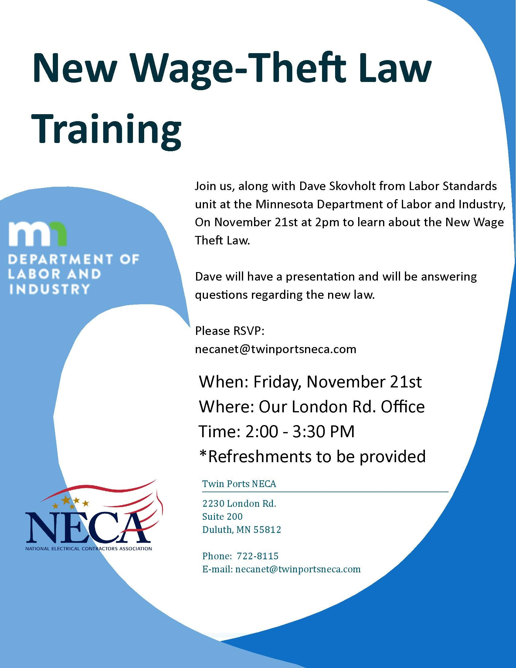 Wage Theft Training NECA flyer.jpg