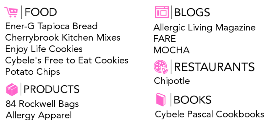 Trusted sources to manage family food allergies