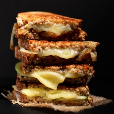 Sweet and Savory Grilled Cheese Recipe