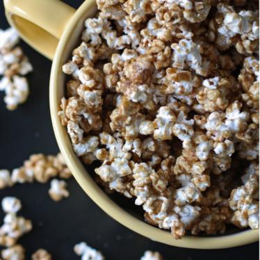 Churro Caramel Popcorn Recipe